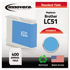 IVR 20051C Innovera 20051, 20051C, 20051M, 20051Y Inkjet Cartridge IVR20051C