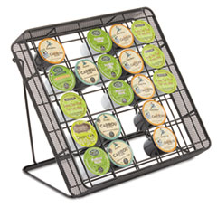 Safco Stand-up Hospitality Organizer, 25 Compartments, 10