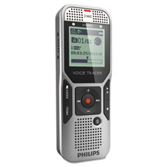 Philips Digital Voice Tracer 1400 Recorder, 4GB, One Touch Record