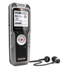 Philips Digital Voice Tracer 5500 Recorder, 4GB, One Touch Record
