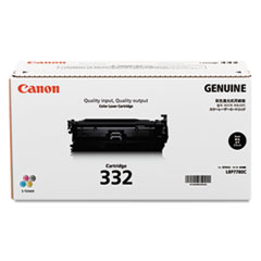 Canon 6264B012 (332LL) Toner, 6400 Page-Yield, Black