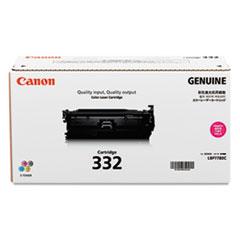 Canon 6261B012 (332) Toner, 6400 Page-Yield, Magenta
