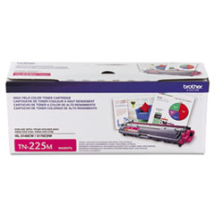 Genuine Brother HL-3140 / HL-3150 / HL-3170, MFC-9130 / MFC-9140 / MFC-9330 / MFC-9340, DCP-9020 (TN225M) High Yield Magenta Toner