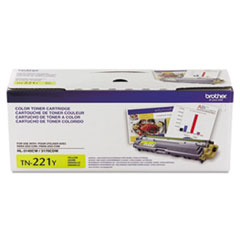 Genuine Brother HL-3140 / HL-3150 / HL-3170, MFC-9130 / MFC-9140 / MFC-9330 / MFC-9340, DCP-9020 (TN221Y) Standard Yield Yellow Toner