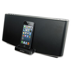 Sony Portable Speaker Dock with Bluetooth, Lightning Connector, 40 Watts