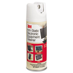 3M Antistatic Electronic Equipment Cleaner, Oil/Wax-Free, 10 oz. Aerosol
