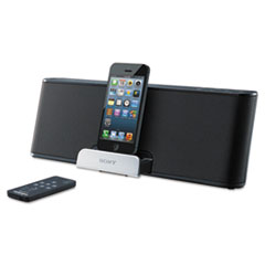 Sony Portable Speaker Dock, Lightning Connector, 6 Watts