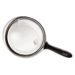 Bausch & Lomb 2X - 6X Round Handheld Magnifier w/Acrylic Lens, 4