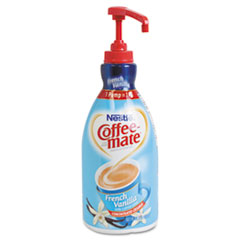 Coffee-mate Liquid Coffee Creamer, Pump Dispenser, French Vanilla 1.5 Liter