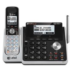 ATT TL88102 AT&T® TL88102 Cordless Two-Line Digital Answering System ATTTL88102