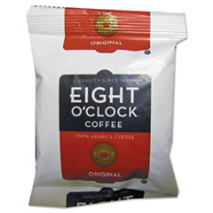 Eight O'Clock Original Ground Coffee Fraction Packs, 1.5oz, 42/Carton