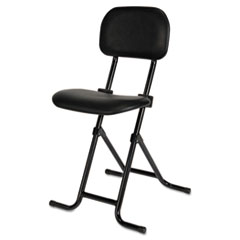 AAP CS612 Alera Plus IL Series Height-Adjustable Folding Stool AAPCS612