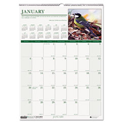 House of Doolittle Wild Birds Monthly Wall Calendar, 12 x 12, 2015