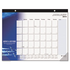 AT-A-GLANCE Successories Motivational Desk Pad, 22