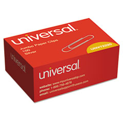 Universal®-CLIP,JUMBO,SMOOTH,100BX