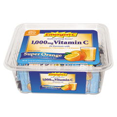 Emergen-C Immune Defense Drink Mix, Super Orange, 0.3 oz Packet, 50/Pack
