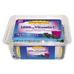 Emergen-C Immune Defense Drink Mix, Acai Berry, .3oz Packet, 50/Pack