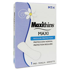 Hospital Specialty Co. Maxithins Thin, Full Protection Pads, 250 Individually Boxed Napkins/Carton