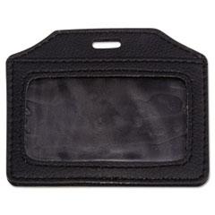 AVT 76340 Advantus Leather-Look Badge Holder AVT76340