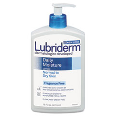 Lubriderm Skin Therapy Hand & Body Lotion, 16oz Pump Bottle
