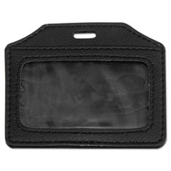 AVT 76342 Advantus Leather-Look Badge Holder AVT76342