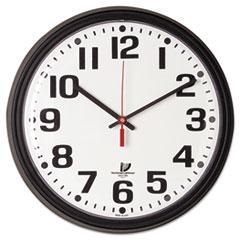 ILC 67700000 Chicago Lighthouse Black Quartz CONTRACT Clock ILC67700000