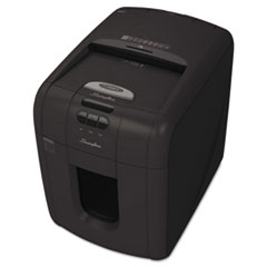 Swingline Stack-and-Shred 100X Hands Free Shredder, Super Cross-Cut, 100 Sheets, 1-2 Users