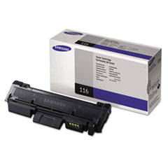 Samsung MLTD116S Toner, 1200 Page-Yield, Black