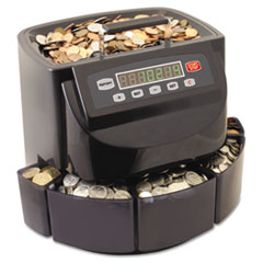 SteelMaster Coin Counter/Sorter, Pennies through Dollar Coins