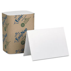 EasyNap Double-Ply Embossed Dispenser Napkins, 6-1/2 x 10, White, 6000/Carton
