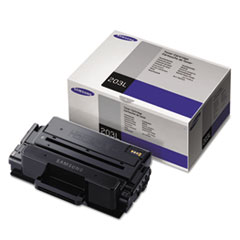 Samsung MLTD203L High-Yield Toner, 5,000 Page-Yield, Black