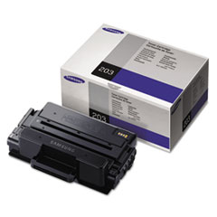 Samsung MLTD203S Toner, 3,000 Page-Yield, Black
