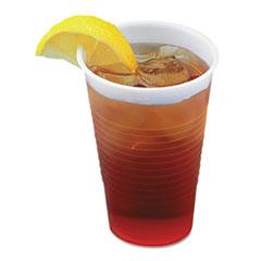 BWK TRANSCUP5PK Boardwalk® Translucent Plastic Cold Cups BWKTRANSCUP5PK