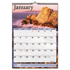 AT-A-GLANCE Recycled Scenic Monthly Wall Calendar, Jan-Dec, Wall, 12 x 17, 2014