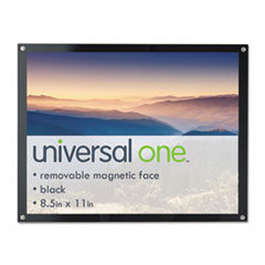 UNV 76856 Universal Deluxe Magnetic Certificate, Sign or Photo Frame UNV76856