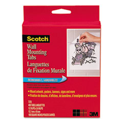 MMM 7225 Scotch Removable Wall Mounting Tabs MMM7225