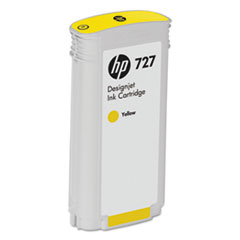 B3P21A (HP-727) Ink, 130 mL, Yellow