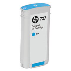 B3P19A (HP-727) Ink, 130 mL, Cyan