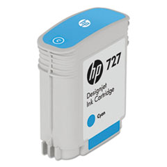 B3P13A (HP-727) Ink, 40 mL, Cyan