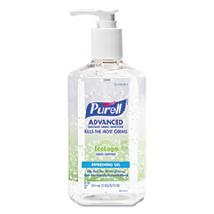 PURELL Green Certified Instant Hand Sanitizer Gel, 12oz Pump Bottle, Clear