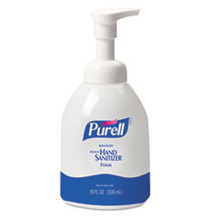 PURELL Advanced Non-Aerosol Foaming Hand Sanitizer, w/Moisturizers, 18 oz Pump Bottle
