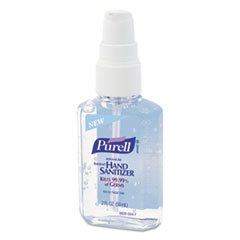 PURELL Instant Hand Sanitizer, 2oz Personal Pump Bottle, 24/Carton