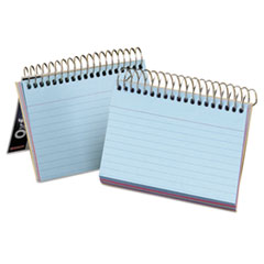 Oxford Spiral Index Cards, 3 x 5, 50 Cards, Assorted Colors