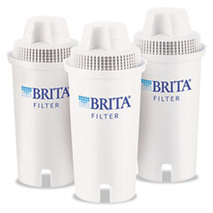 Brita Water Filter Pitcher Replacement Filters, 3/Pack