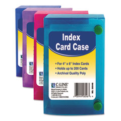 CLI 58046 C-Line Index Card Case CLI58046