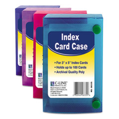CLI 58335 C-Line Index Card Case CLI58335