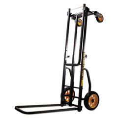 Advantus Multi-Cart 8-in-1 Cart, 500lb Capacity, 32 1/2 x 17 1/2 x 42 1/2, Black