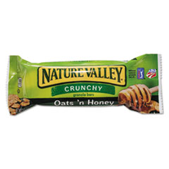 General Mills Nature Valley Granola Bars, Oats'n Honey Cereal, 1.5oz Bar, 18 Bars/Box