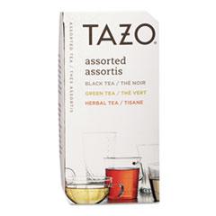 Tazo Assorted Tea Bags, Three Each Flavor, 24/Box