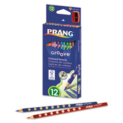 DIX 28112 Prang Groove Colored Pencils DIX28112